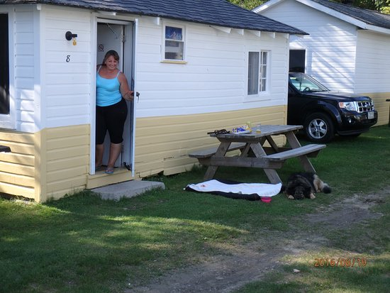 Golden Eagle Cottages and Motel: our cabin