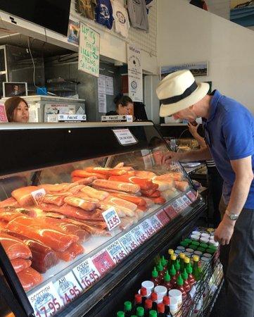 Santa Barbara Fish Market Kalifornien Omd Men