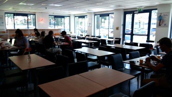 Badhoevedorp, The Netherlands: Столовая на 1 этаже отеля