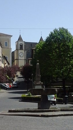 San Martino al Cimino, Włochy: Via Doria. Dove è ubicato il Ristorante.
