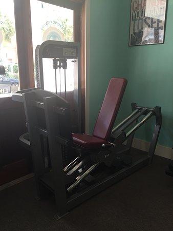 Carillon Beach, FL: Leg press