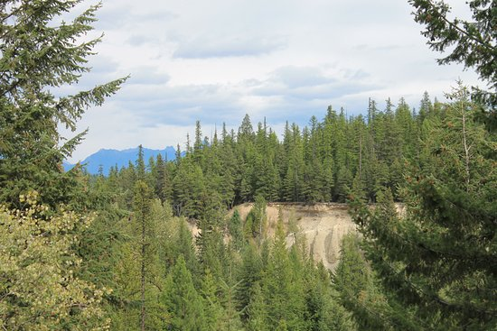 Kimberley, Kanada: View across the ravine to the far side of the river from site # 65