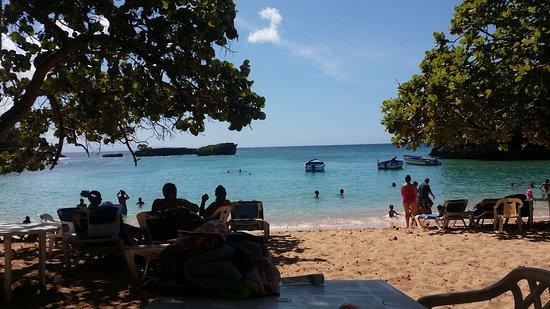 Cabarete, República Dominicana: caleton beach