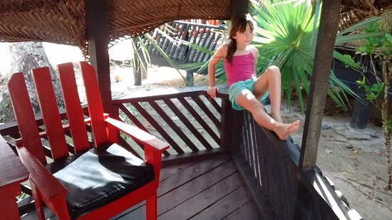 Manase, Samoa: Abierta 'tipo fale' pero con baño privado