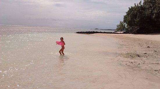 Manase, Samoa: A pasos de la habitación