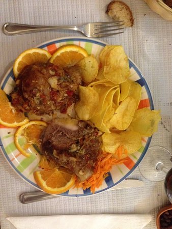 Reguengos de Monsaraz, Portugal: Pork cheeks