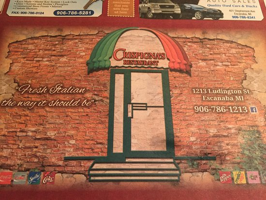 Escanaba, MI: The placemat