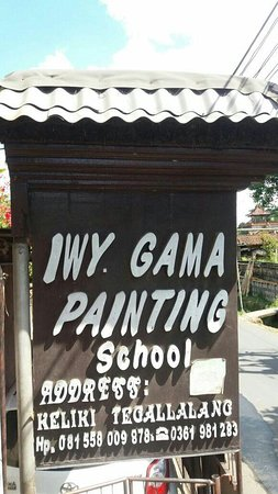 Wayan Gama Painter Group and School