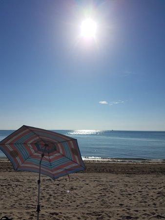 Hollywood Beach: Hermosa mañana de playa