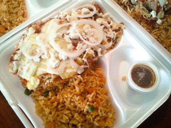 Rosa Mexicano: Enchiladas