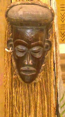 McCormick, Güney Carolina: African mask from our African Artifact Collection