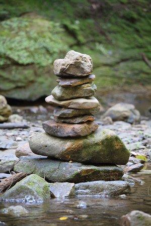 Logan, OH: Rock cairns