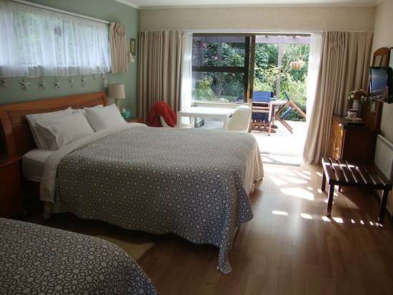 Whangaparaoa, New Zealand: Fantail - Largest ensuite room
