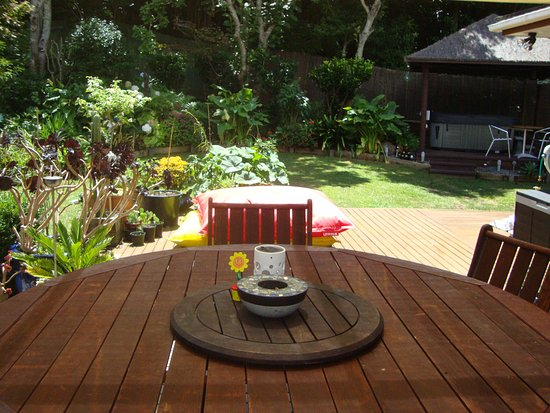 Whangaparaoa, New Zealand: Secluded garden