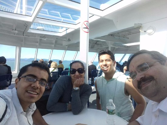 Sidney, Canada: On the BC Ferry from Vancouver to Victoria Islands