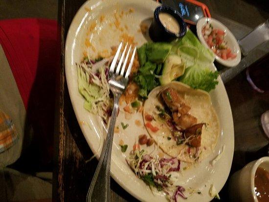 Nachos, Fish tacos