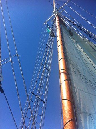 Coupeville, WA: Mast detail