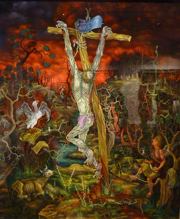 Croatian Museum of Naive Art: Christ Crucified