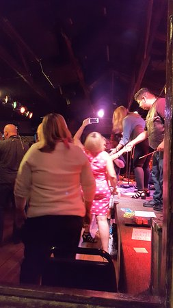 Stillwater, MN: High and Mighty band rocking the place