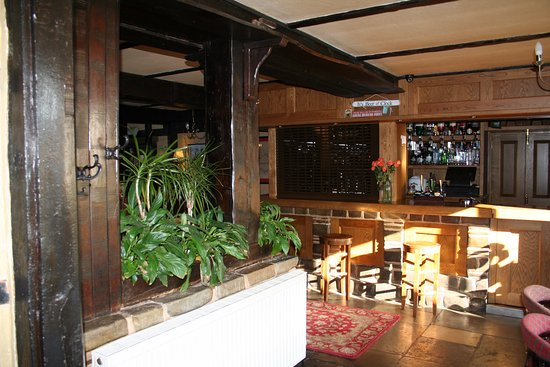 Alcester, UK: The Hotel Bar.