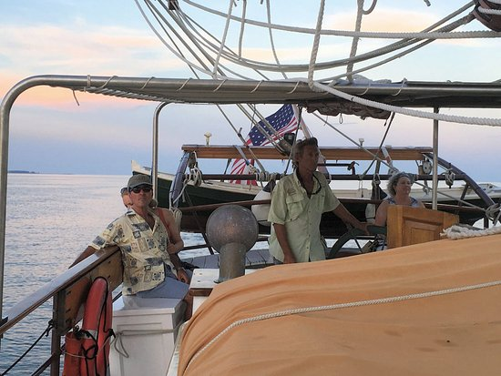 Yorktown, Βιρτζίνια: Captain Greg and friends.