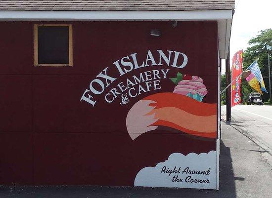 Hewitt, NJ: Fox Island Creamery Wall Mural