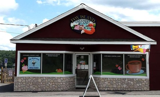 Hewitt, NJ: Fox Island Creamery & Cafe Building