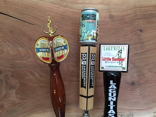 Inverness, CA: beer on tap