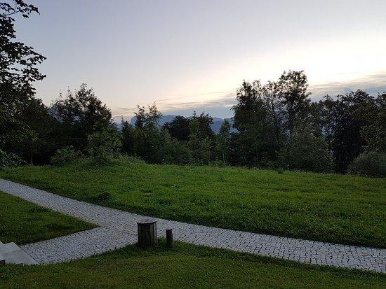 Le Ciel Berchtesgaden: The view from the garden