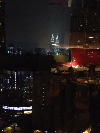 Furama Bukit Bintang: View from executive loung