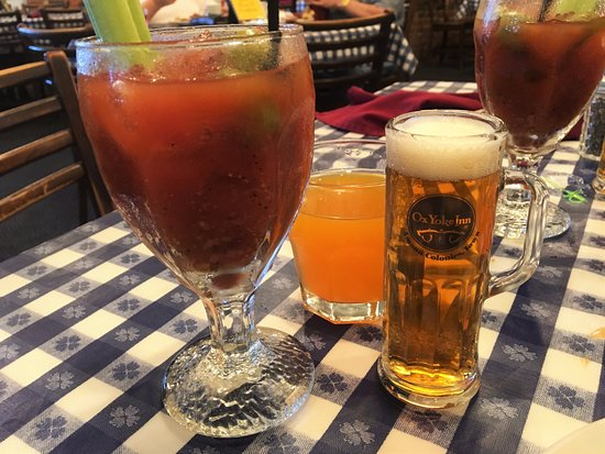 Amana, IA: Bloody Mary with beer chaser