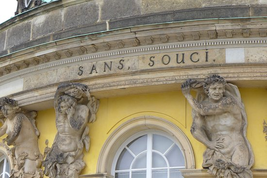 Sanssouci Palace: Clearly, Two Words!