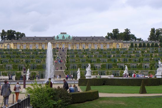 Sanssouci Palace: The Cascading Vineyard