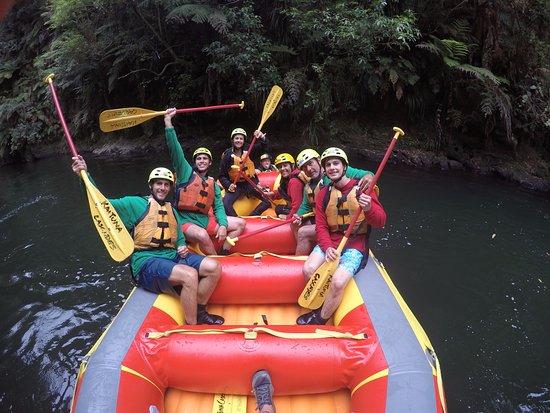 Okere Falls, نيوزيلندا: En el rio kaituna...... (este trip advisor te hace poner 10000 caracteres a todooo!!)
