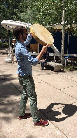 Aspen Music Festival and School Percussion Player