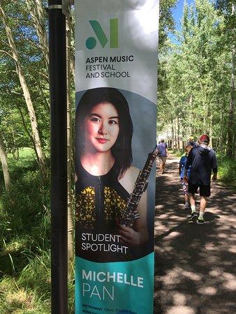 Aspen Music Festival and School Entranceway