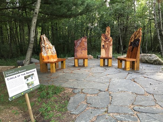 Stevens Point, Висконсин: Schmeeckle Reserve
