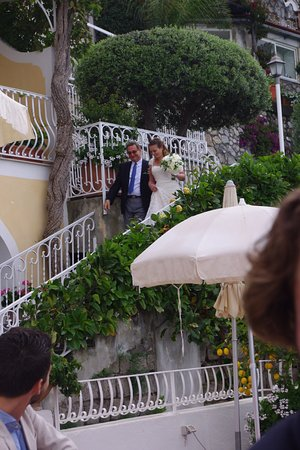 Hotel Marincanto: Here comes the Bride (with Father)
