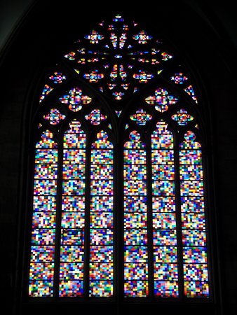 Cologne Cathedral Modern Stained Glass Window