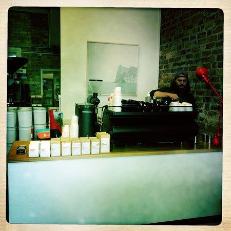 Let's enjoy chai latte here!