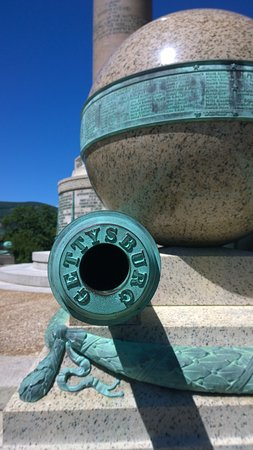 United States Military Academy: Trophey Point Cannon from Civil War