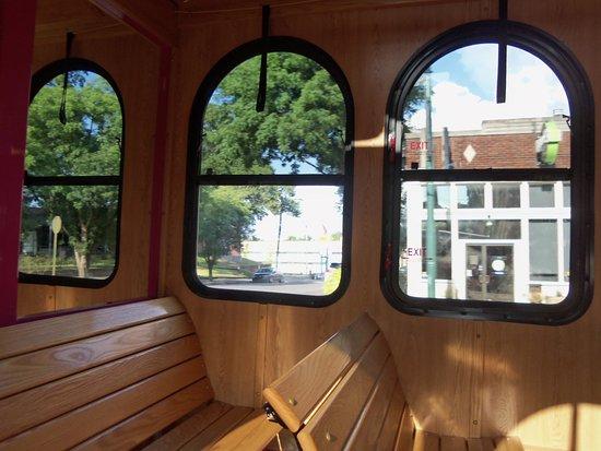 Main Street Trolley Foto