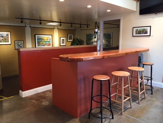 Inverness, Kalifornien: tap room
