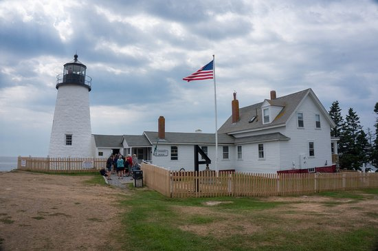 Pemaquid Point Lighthouse: great lighthouse