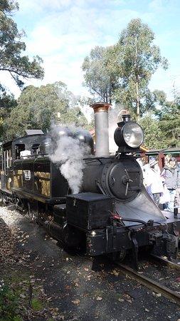 Belgrave, Australia: The steam engine