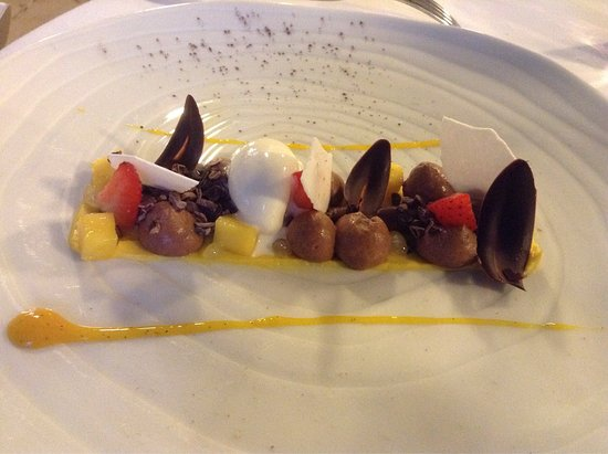 Langon, Frankrig: Dessert