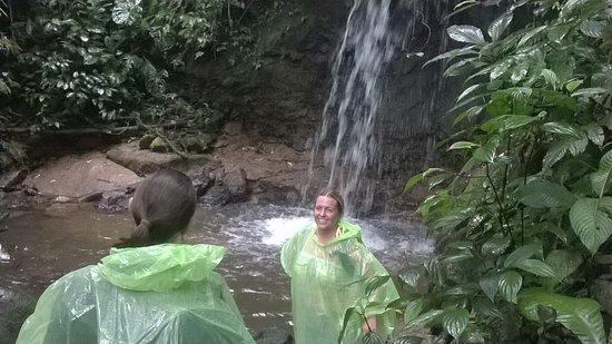 Misahualli, Equador: cascada