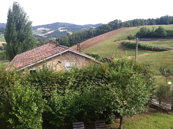 Monzuno, Italia: View from our room