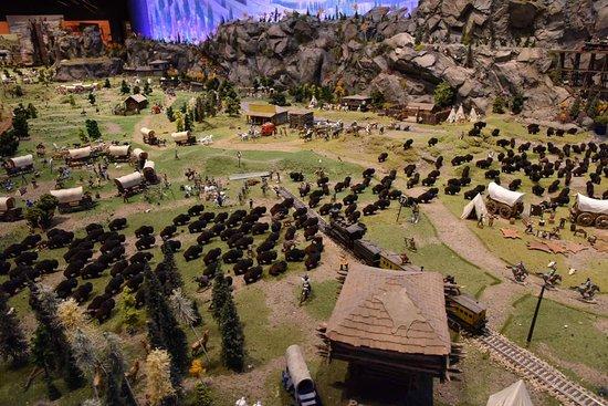 Danville, CA: la sala del old wild west