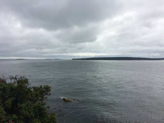 Bass Harbor, ME: View from Bas Harbor Head Lighthouse East